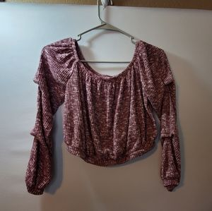 ***3 for $15 Bear Dance crop top sz sm